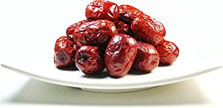 Greenhilltea health fruit Xinjiang Red Dates natural Jujube dried fruit 1 LB