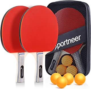 Table Tennis Paddle Sets