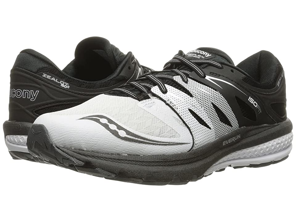 Saucony Zealot ISO 2 (White/Black/Silver) Men