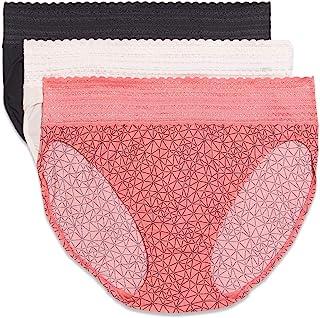 Warner's Women's Blissful Benefits No Muffin Top Micro Hi-Cut Panties