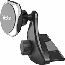 Car Phone Holder, Veckle CD Slot Magnetic Phone Car Mount Holder Strong Magnet Phone Holder for Car Universal Cradle for Smartphone iPhone 8 7 6S 6 Plus X Samsung Galaxy S8 S7 Edge Note 8 5 GPS, Black