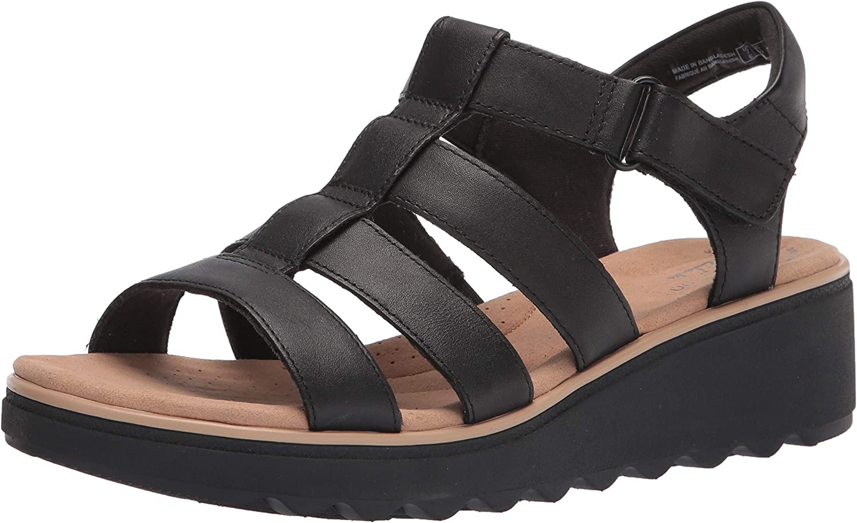 Clarks Women's Ranking TOP8 Jillian Quartz Sandal Wedge Spasm price