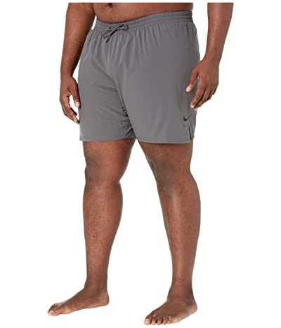 Nike Big Tall 7 Essential Vital Volley Shorts (Iron Grey) Men
