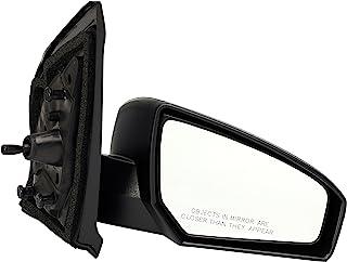 Dorman 955-983 Passenger Side Manual Door Mirror - Folding for Select Nissan Models, Black