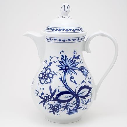 Preisvergleich für KAHLA Rossella Kaffeekanne 1,30 l Zwiebelmuster (mit kleinen Schönheitsfehlern)