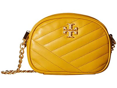 Tory Burch Kira Chevron Camera Bag (Daylily) Handbags