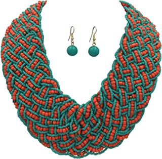 Best coral and blue necklace Reviews