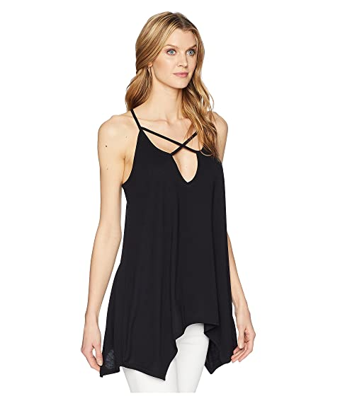Front Knit Cross 1609 Blend Roper Polyester Black Tank tqwXanC