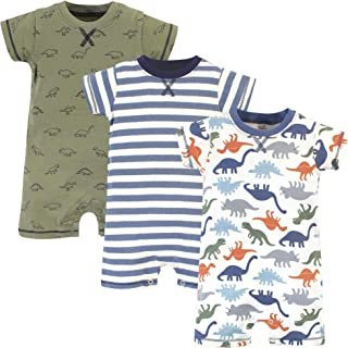 Touched by Nature Unisex Baby Organic Cotton Rompers