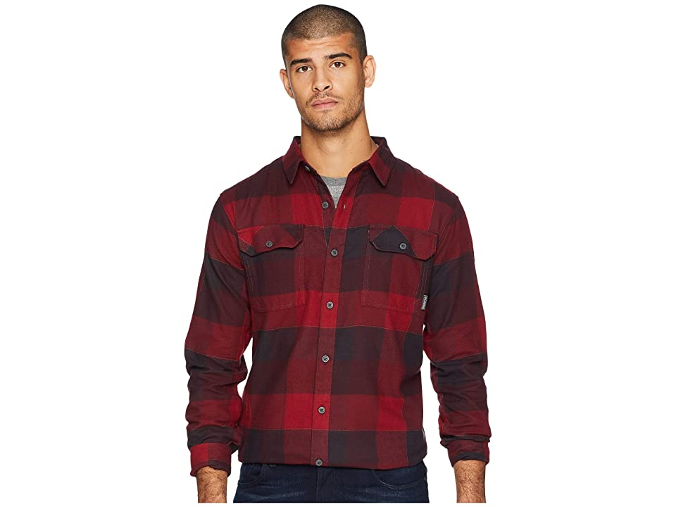 Columbia Flare Guntm Flannel III Long-Sleeve Shirt (Red Element Large Plaid) Men