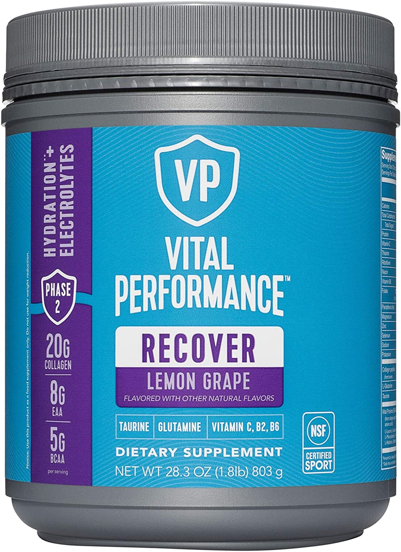Vital Performance Recover Regular discount Max 45% OFF Hydration + - Lemon Electrolytes Grape