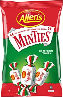 Allens Minties Chewy Bulk Bag Lollies, 1Kg