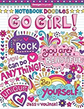 Notebook Doodles Go Girl!: Coloring & Activity Book: 6