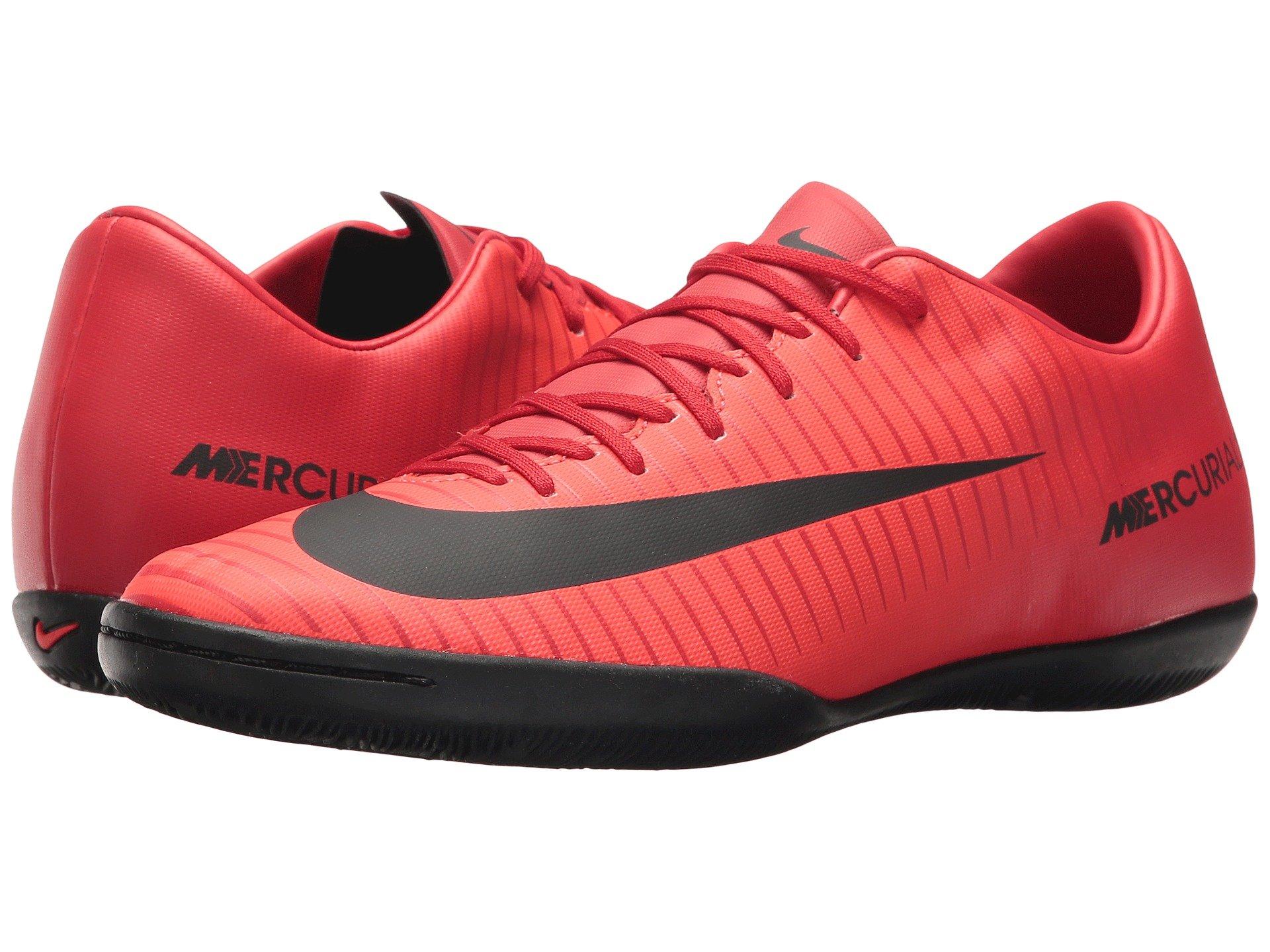 54080aca26a4 Nike Mercurial Victory Vi Ic In University Red Black Bright Crimson ...
