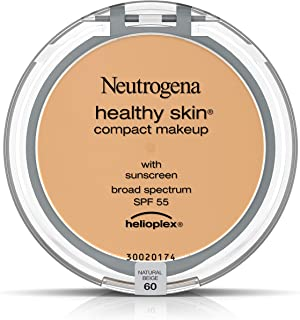 Neutrogena Healthy Skin Compact Makeup Foundation, Broad Spectrum Spf 55, Natural Beige 60,.35 Oz.