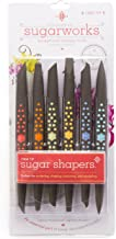 Innovative Sugarworks Sugar Shapers Cake Decorating Unique Tools (Pack of 6) Regular ISWSSF00001