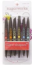 Innovative Sugarworks Sugar Shapers Fondant Cake Decorating Unique Tools, for Sugarcraft, Gum Paste, Modeling Chocolate (Pack of 6), Firm Tip, Regular