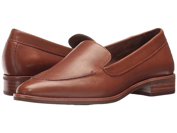 Aerosoles  East Side (Dark Tan Leather) Womens  Shoes