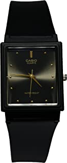 Casio Men's Black Dial Resin Band Watch - MQ-38-1A