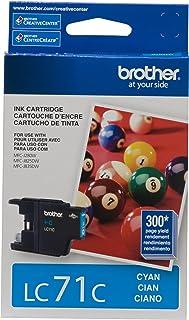 Brother(R) LC71C Cyan Ink Cartridge
