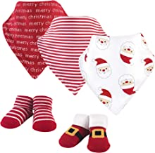 Hudson Baby Baby Bandana Bibs and Socks