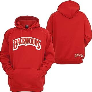 Backwoods Hoodie Cigarrillos Wiz Khalifa Stoner 420 Off Coast Sweatshirt Red