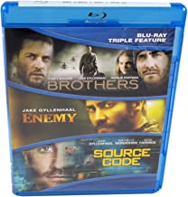 Jake Gyllenhaal Triple Feature with Brothers, Enemy & Source Code - Blu-Ray
