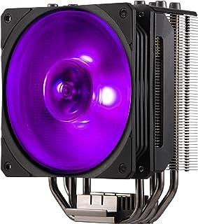 Air Cooler Para Processador Cooler Master Hyper 212 RGB Black Edition Com 4 HeatPipes e Ventoinha 120mm