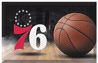 "FANMATS 19108 Team Color 19"" x 30"" Philadelphia 76ers Sc Mat (NBA Ball)"
