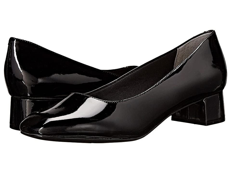 Trotters Lola (Black Soft Patent Leather) Women