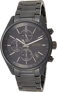 Hugo Boss Hommes Chronographe Quartz Montres bracelet avec bracelet en Acier Inoxydable - 1513676