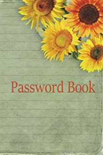 Password Book: Marigold ,Now you can log into your favorite social media sites, pay your bills, review your credit card statements, and shop at your ... stores, quickly and effortlessly! (Volume 21)
