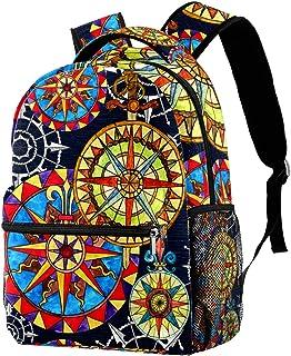 حقيبة ظهر خفيفة الوزن حقيبة مدرسية للكلية حقيبة كمبيوتر محمول Daypack للبالغين والأطفال حقيبة ظهر غير رسمية بوصلات بألوان ...