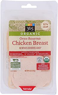 365 Everyday Value, 365 Oven Roasted Chicken Breast Organic, 6 Ounce