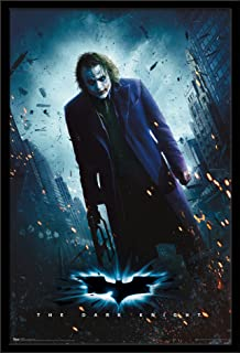 Trends International DC Comics Movie - The Dark Knight - The Joker - One Sheet Wall Poster, 22.375