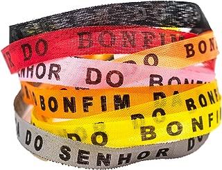 Brazilets, 9-Pack - Traditional Brazilian Bracelets - Tie-On Wish Bracelets - Bahia Bands Spiritual, Special or Friendship Bracelets {Sunset Kiss}