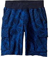 Lucky Brand Kids - Swell Cargo Shorts in French Terry (Little Kids/Big Kids)