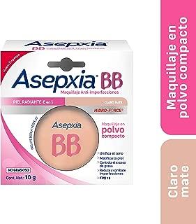Asepxia BB Maquillaje en Polvo FPS 15 Claro Mate 10 g