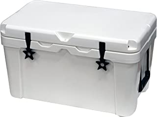 Outbound 20,45, and 75 Quart Models - Durable & Stylish Rotomolded Coolers, Vacuum Release Valve, and Lo Profile Latching System (45 Quart)