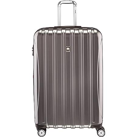 DELSEY Paris Helium Aero Hardside Expandable Luggage with Spinner Wheels, Titanium, Checked-Large 29 Inch