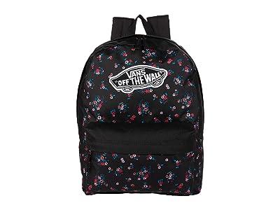 Vans Realm Backpack (Beauty Floral Black) Backpack Bags