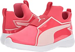 Puma Kids Rebel Mid Satin (Little Kid)