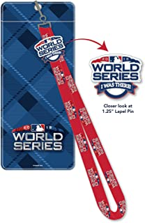 2018 world series lanyard