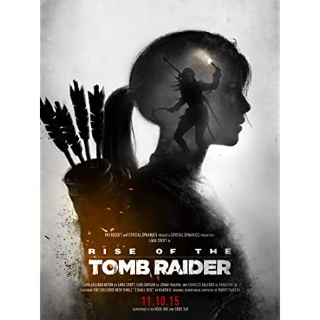 Pira De Impresión Tomb Raider Póster Rise Of The Tomb Raider Póster Lara Croft Ps4 Xbox 360 Juego De Pc Póster Home Kitchen