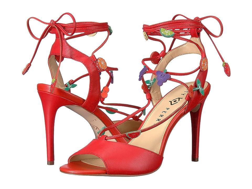 Katy Perry The Carmen (Cherry Red Nappa) Women