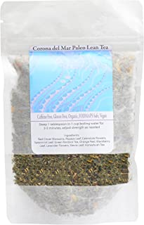 Corona del Mar Paleo Lean Tea 21 Days The Best Teatox That Helps You Become Lean, Fights Bloating & Water Weight & energiz...