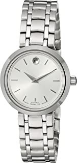 Women's 0606917 Analog Display Swiss Automatic Silver Watch