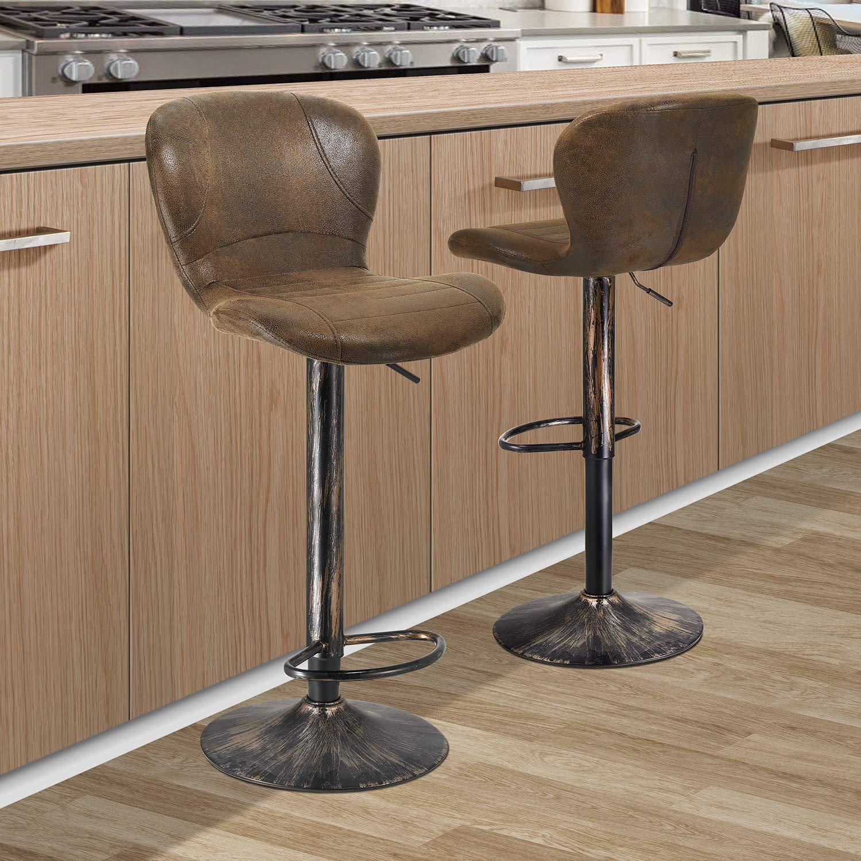 kealive Bar Stools Set of 9 Height Adjustable Barstools Swivel ...
