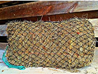 """Texas Haynet Square Bale Hay Net Slow Feed Nylon Fits Bales 36x18x18"""" 1.5"""" Holes Made in America"""