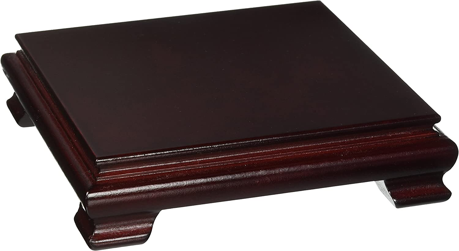 Oriental Furniture Rosewood Vase Stand - 5.5 Base Diam Topics on TV Max 66% OFF Size in.